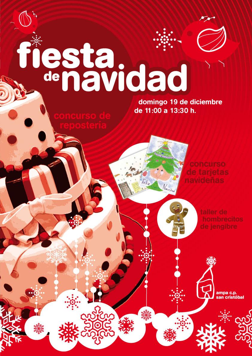 Convocatorias y Fiesta de Navidad. Domingo 19 Diciembre, de 11 a 13:30