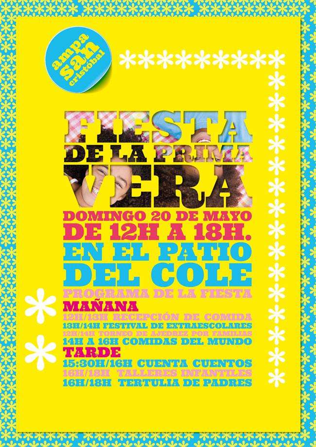 FIESTA DE PRIMAVERA 20 DE MAYO EN EL COLE! SAVE THE DATE