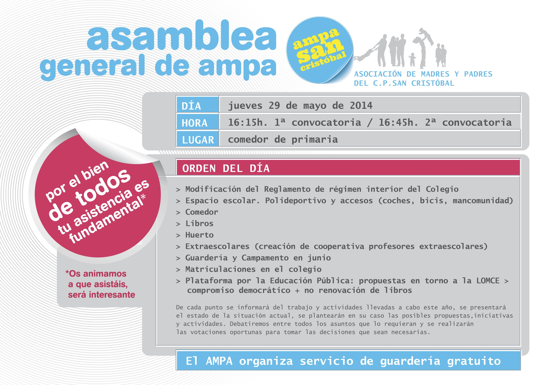 Asamblea General Mayo 2014