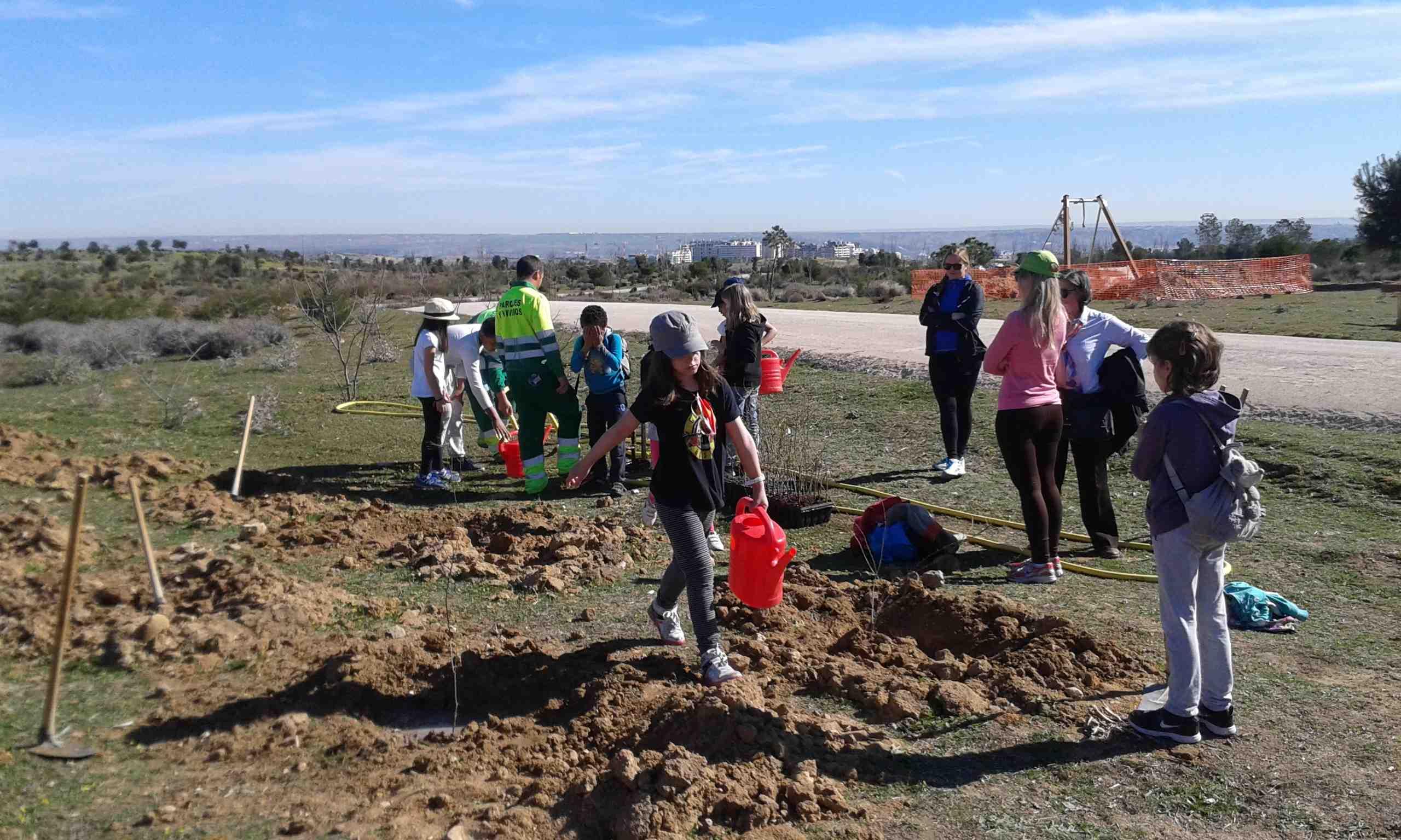 Fotos de las últimas actividades del huerto escolar