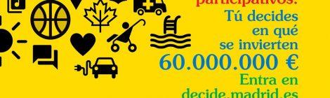 Ya puedes votar los presupuestos participativos