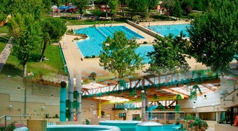 Salida al complejo deportivo municipal dehesa boyal en san for Piscina valdelasfuentes