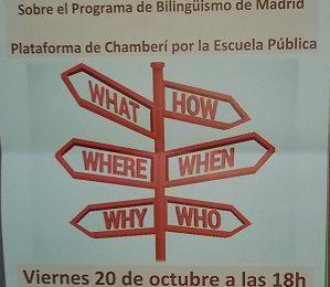 El programa bilingüe a examen. Informe de Acción Educativa / Movimiento de Renovación Pedagógica
