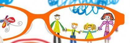 Charla sobre salud visual infantil dirigida a padres y madres. Martes 28, 16:15h