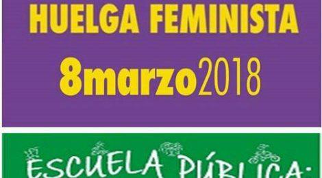 Huelga feminista 8M: apoyo de la Marea Verde y reunión preparatoria en la Casa de la Cultura
