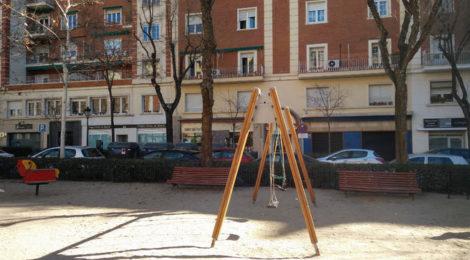 Reformar el parque infantil de la Plaza del Conde del Valle de Suchil (Presupuestos participativos)