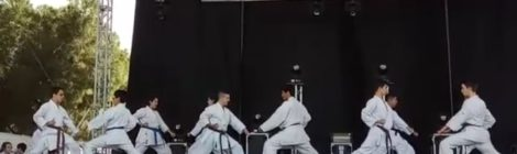 Exhibición de Karate San Cristóbal