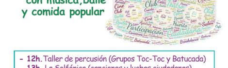 Fiesta del I Aniversario de Casa de Cultura y Participación Ciudadana de Chamberí