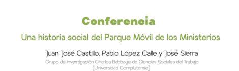 Historia social del Parque Móvil. Exposición y Charla, viernes 26, 18:30h, casa de la cultura de chamberí